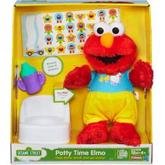 Playskool Sesame Street Potty Time Elmo Toy