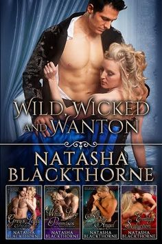 Heads Up: Wild Wicked & Wanton by Natasha Blackthorne  Available for Pre-Order!