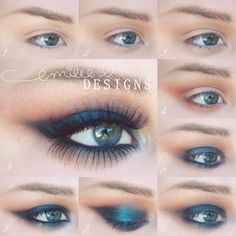 Simple But Dramatic Smokey Eye MakeUp Tutorial