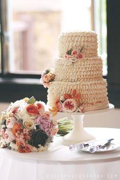 A Waldorf Wedding Cake