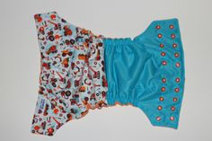 Small but Mighty Tough!  OS AI2 cloth diaper