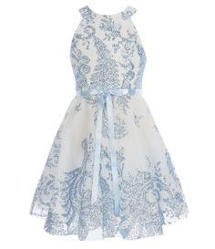 846f4cb37391 Adrianna Papell Beaded Lace Illusion Gown | Dillard's. High Low Hem  DressesGirls ...