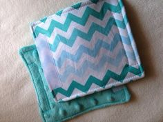 "Teal Aqua Blue White Chevron Car Seat Strap Covers Baby Toddler 5.5"" Set Padded Girls Reversible You Choose Minky color on Etsy, $7.00"