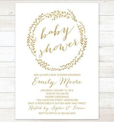 First impressions are important! Give your guests something to look forward to with these awesome printable baby shower invitations! Go and take your pick!