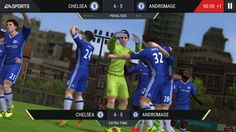 FIfa Mobile 2017 Android and ios Gameplay `~ PES 2017 IS BETTER