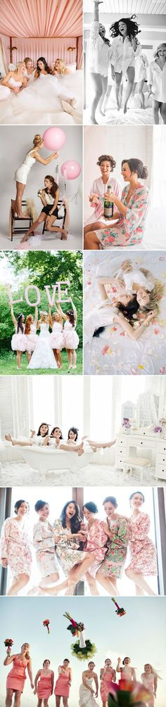 It's always fun when girl friends get to dress up together! Your special day is one of the few times that you and your girls will be dressed in your finest, so why not take advantage of having all your favorite girls around you and create some fun photos that you'll cherish forever? If you …