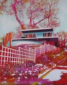 Paul Davies Colorful Mid-century Architecture 8