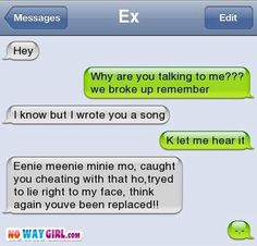 Google Image Result for http://cdn.nowaygirl.com/wp-content/uploads/2012/04/funny-text-messages-song-for-the-ex.jpg
