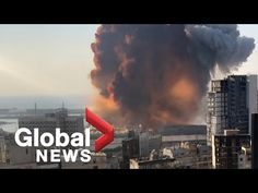 Beirut explosion: Video shows new angle of the massive blast - YouTube Beirut Explosion, New Politics, Global News, Visual Effects, Viral Videos, True Stories, In This Moment, Lebanon, High Definition