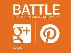 google-plus-vs-pinterest-where-should-you-market-your-business by Orange Mobile Marketing via Slideshare