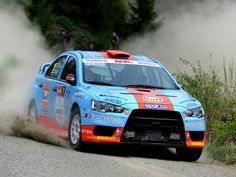 Mitsubishi Evo X rally car Sports Car Racing, Sport Cars, Race Cars, Auto Racing, Mitsubishi Cars, Japanese Sports Cars, Super Images, Evo X, Mitsubishi Lancer Evolution