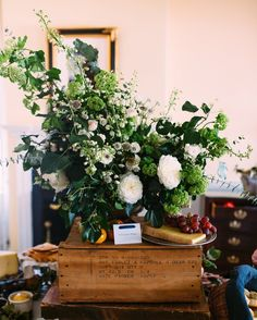 In the spirit of women power shared a post today about a favorite fellow female entrepreneur and her company @virginiadaredressco - we had the pleasure of flowering their launch party this fall alongside other lovely and talented creative women. See more via link in profile.  Photo: @paulabphoto  Styling: @adailysomething  Venue: @birkbyhouse  #wildgreenyonder #flowers #gardenroses #greenery #gardenstyle #virginiaflorist #floral #naturaldecor