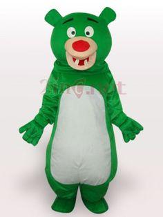 $209.73Green Bear Short Plush #Adult #Mascot #Costume