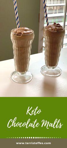 Delicious chocolatey goodness. The texture is similar to a frosty!  #keto #ketodesserts #ketomilkshake