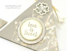 Wedding Favour Triangle Pouches