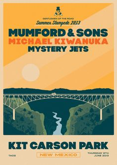 Valle Escondido, NM Join the Summer Stampede at the Taos Solar Music Festival. Featuring Mumford & Sons, Michael Kiwanuka, Mystery Jets & more. Click flyer for more >>