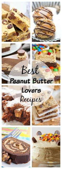 Best Peanut Butter Lovers Recipes ~ satisfy your peanut butter craving with this mouthwatering round-up of recipes!