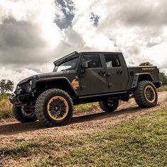Starwood Motors www.starwoodmotor… ___________ Photo cr… - Home & DIY Auto Jeep, Jeep Tj, Jeep Cars, Jeep Truck, Jeep Wrangler Pickup, Jeep Wranglers, Suv Trucks, Dodge Trucks, Diesel Trucks