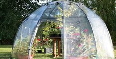 For urban gardeners longing for more, versatile space to grow their greens comes the Sunbubble Greenhouse, a portable dome-shaped pod that doubles as a mini Eden. The transparent bubble design is strategic to receiving an optimal amount of sunlight all day long, making it a perfect tool for growing plants as well as a chill-out area for reading or snoozing in the sun.