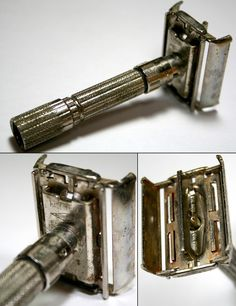How to clean and retire a safety razor.