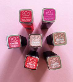 Maybelline Color Sensational Matte and Vivid Review (beautyhaven)