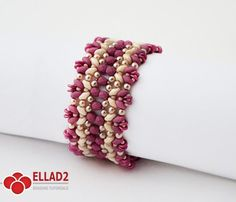 "Make your own ""Pastelleta Bracelet"" with good old Superduo beads, Fire-polished beads and O-beads.Tutorial is very detailed, easy to follow, step by step."