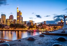 It might be more serious, but the financial district is well worth a visit for a true taste of Frankfurt. The towering banks and office blocks form Europe's most impressive skyline, and Frankfurt's ultimate landmark. But rest assured, the art found in this part of the city is also of international standing.