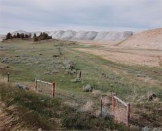 David T. Hanson, View from Sarpy Creek Road: new mine area and spoil piles