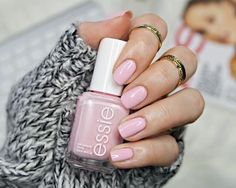 Bring in Muchi Muchi by #Essie to your next mani appointment if you're looking for a pastel pink. #treatmeto