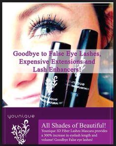 Younique 3 D fiber lash mascara.  Get your at www.gamefacebeauty.com