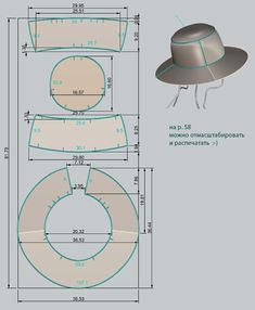 Awesome Photo of Hat Sewing Patterns Hat Patterns To Sew, Barbie Patterns, Dress Sewing Patterns, Sewing Patterns Free, Sewing Hacks, Sewing Tutorials, Sewing Crafts, Sewing Projects, Barbie Clothes