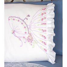Umbrella Lady Pillowcase Pair