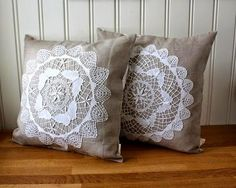 Lace On Pillows