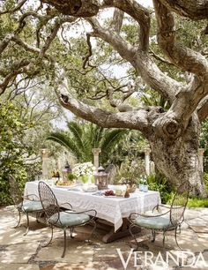 A Sophisticated Outdoor Dining Area