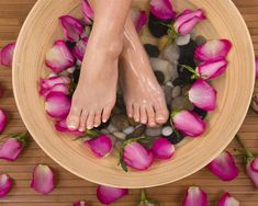 RELAXING FOOT SPA - ENJOY WITH PRMAVERA lIFE ESSENTIAL OILS TO BRING RELAXING ATMOSPHERE
