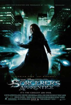 The Sorcerer's Apprentice (2010) -- just when you thought there was enough magic in New York City...