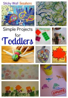 Simple Craft Projects for Toddlers