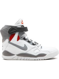 Nike Air Pressure 'david Robinson' Sneakers In White Tenis Nike Air, Nike Air Shoes, Nike Air Max, Nike Socks, Addidas Shoes Mens, Sneakers Nike, Futuristic Shoes, Kicks Shoes, Kd Shoes