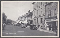 High Street, Witney - by T.V.A.P. - Postcard Unposted (W346) | eBay