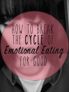 How to break the cycle of emotional eating- let go of subconscious patterns that keep you trapped in this viscous cycle.