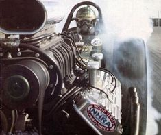 Front engine dragster. The Zookeeper! Beebe & Mulligan.