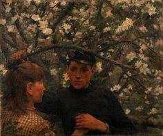 """""""The Promise"""" (1887) - Henry Scott Tuke (1858-1828) - Wikipedia"""