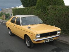 Vintage Car Models Hillman Avenger - the epitome of beige boredom . shares this title with the Austin Allegro . 70s Cars, Retro Cars, Vintage Cars, Classic Cars British, Classic Chevy Trucks, Classic Motors, Small Cars, Car Car, Classic Cars