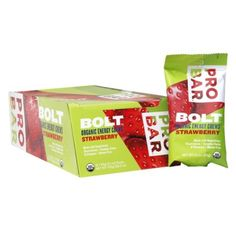I'm learning all about PROBAR BOLT Organic Energy Chews Strawberry at @Influenster!