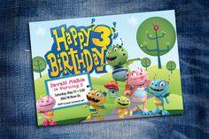 Henry Hugglemonster Birthday Party Invitation by DenimGraphics, $15.00