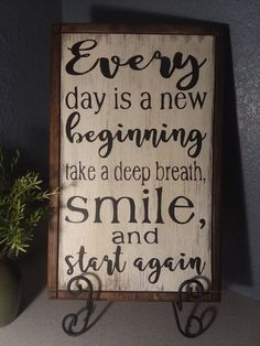 Super Ideas For Awesome Wood Projects Thoughts Diy Wood Signs, Pallet Signs, Inspirational Signs, Sign Quotes, Quotes For Wood Signs, Family Quotes, Wood Projects, Positive Quotes, Quotes To Live By