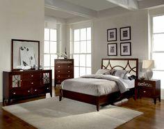 Mirrored Bedroom Furniture Decoration
