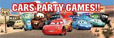 Disney Cars party games - get ready to rev your engine with these awesome DIY ideas.