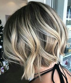 * Vanilla Short Bread ... 1st feature on #behindthechair by @hairbynicolereyns #btchairbynicolereyns #behindthechair *  *  *  *  #dimensionalblonde #balayage #hairpainting #highcontrast #blonde #bobs