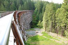 Kinsol Trestle Bridge - Cowichan